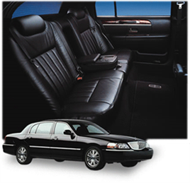LincolnTown Car For Three Passenger